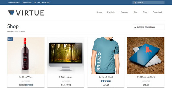 theme wordpress e commerce gratuit