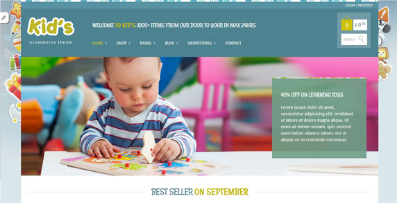 theme wordpress e-commerce gratuit