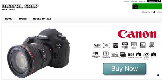 themes prestashop gratuit camera