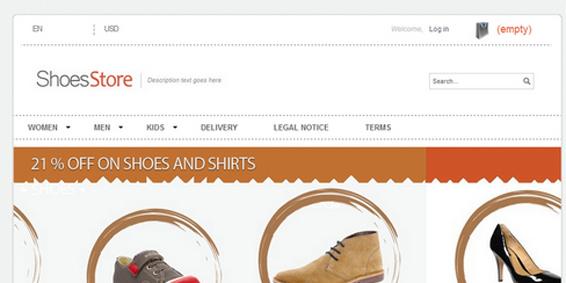themes prestashop gratuit shoes